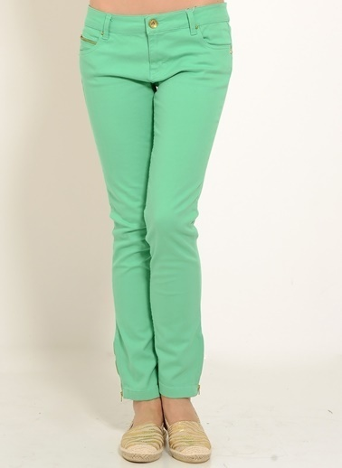 LMN by Limon Company Limon Company Yeşil Kadın Pantolon Yeşil